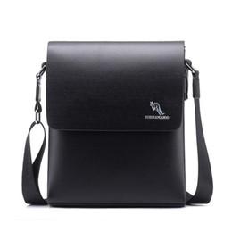 pop cell phone 2019 - Kangaroo Pop Men Shoulder Bags Male Travel Bag Famous Brand Crossbody Bag For Men Small Laptop Messenger Bags M065 disco