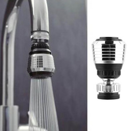 sink sprayers 2019 - 360 Degree Swivel Sink faucet Aerator with 2 Function Swivel Sprayer for Kitchen Bathroom faucets Water Saving Tap Nozzl