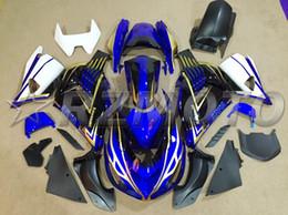 Blue Fairing Zx14r Australia - New ABS Motorcycle bike Fairings Kit Fit for kawasaki Ninja ZX14R ZZR1400 2006 2007 2008 2009 2010 2011 06 07 08 09 10 11 14R custom blue