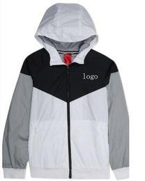$enCountryForm.capitalKeyWord Australia - 2018 Luxury Men's Designer Jacket Coats Thin Higt Quality Brand Men Sports Windbreaker Zipper Nice Jackets Hoode Hoodie Men's Clot