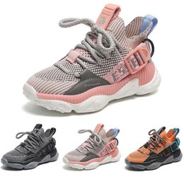 baby boys trainers NZ - Kids Shoes Designer Shoes Big Boys Girls Baby Toddler Sport Trainers Baby Athletic Sneakers 2019 Autumn New Baskets Trainers Infant Sneakers