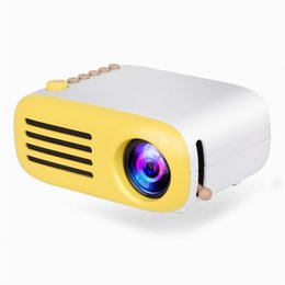 Mini Video Proyector Australia - AAO Portable Mini LCD LED Projector YG200 YG-200 400-600LM 1080p Video 320 x 240 Pixel Home Wireless Remote Control Proyector