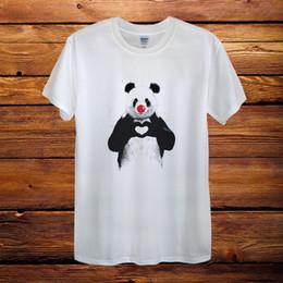$enCountryForm.capitalKeyWord NZ - Panda Heart Love Red Nose Day Top Design T-Shirt hoodie hip hop t-shirt jacket croatia leather tshirt denim clothes camiseta t shirt