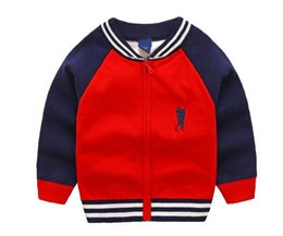 $enCountryForm.capitalKeyWord UK - New Children's Top Clothes Baby Sweater Big Horse Embroidery Kids Outerwear Girl Sweater Boy Sweater V-neck Sweaters coat