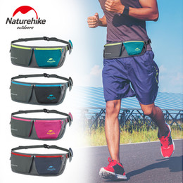 belt multifunctional sports waist pack 2019 - Naturehike running sports waist bags waterproof multifunctional belt packs men and women cell phone pocket for cycling f