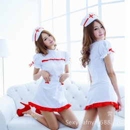 $enCountryForm.capitalKeyWord Australia - New sexy lingerie Sexy female uniform temptation heart shaped pocket nurse sweet can love uniform 2613