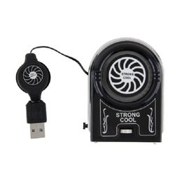 $enCountryForm.capitalKeyWord NZ - centechia Mini Vacuum USB Cooler Air Extracting Cooling Fan for Notebook Laptop Computer Peripherals Black