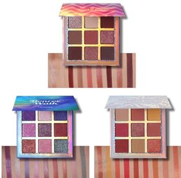 Eyeshadows Palettes Australia - Wholesale DHL Eye Shadow Sparkle 9 Colors Creamy Metallic Palette Highly Pigmented Shimmer Matte Eyeshadows Smooth Long Lasting Easy to Wear