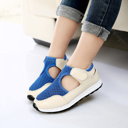 Sneakers Cut Out Australia - 2019 Soft New Fashion Summer Children Shoes Air Mesh Boys & Girls Sandals Breathable Cut-outs Kids Sneakers Unisex