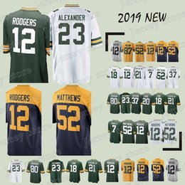 68f4113aa Green Bays 77 Packer jerseys Aaron Rodgers Jaire Alexander Jordy Nelson  Josh Jackson Jimmy Graham Kevin King Ha Clinton-Dix new jersey