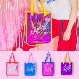 $enCountryForm.capitalKeyWord Australia - Bentoy Fashion Women Summer Shoulder Hand Bag For Girls Casual PVC Waterproof Shopper Bag Beach Handbag Totes Feminina Blosa