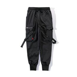 $enCountryForm.capitalKeyWord NZ - Men's trousers brand black street dance pants clothing casual overalls Harajuku sports pants hip hop 2019 new hot sale
