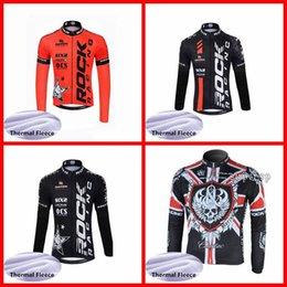 2042fd3f1ee ROCK RACING team Велоспорт Зимний термальный флис Джерси Новая горячая  распродажа высококачественная одежда теплая быстрая сушка N03028036