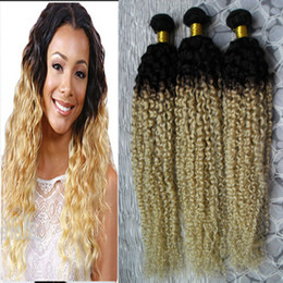 $enCountryForm.capitalKeyWord Australia - Brazilian Curly Human Hair Bundles Remy Human Hair Extensions 3 Bundles Double Machine Weft Remy Hair Weave Extensions