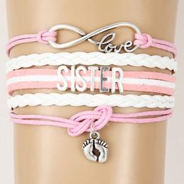 $enCountryForm.capitalKeyWord Australia - Wholesale Bracelet MOM SISTER MIMI NANA Family Member Letter Bracelet