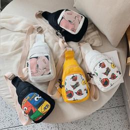 $enCountryForm.capitalKeyWord Australia - 2019 New Girls Cartoon Messenger Bag Fashion Children anime Printed Canvas Backpack Sport Style Kids Casual Bags Y2506