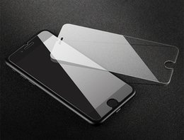 tempered glass screen iphone 6s Canada - Non-full-screen tempered glass film for Apple X iPhoneXR Xs Max 8 7 4 5 6S Plus Scratch-resistant tempered glass protective film