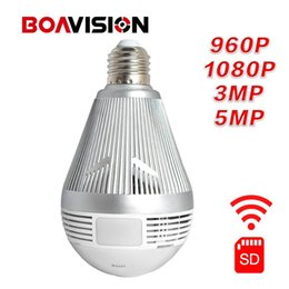 Consumer Electronics 360 Degree Fisheye Wifi Smart Bulb Lamp Ip Led Light 3mp Wireless Panoramic Camera Home Security Anti-burglar Support Tf Card