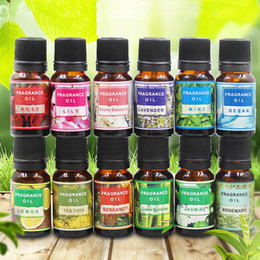 Wholesale Water Soluble Flower Fruit Essential Oil Relieve Stress Humidifier Fragrance Air Freshener Lavender Aromatherapy Essential Oil BH2321 TQQ