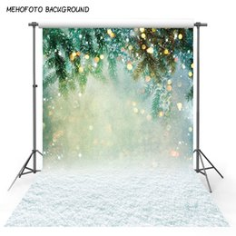 new years photography backdrop Australia - Bokeh Spots Glitter Christmas Trees Lights Photography Backdrops Newborn Baby Photo Backgrounds for New Year Studio