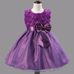 $enCountryForm.capitalKeyWord Australia - Baby Girls Floral Dress Children Clothes Tutu Ball Gowns For Party And Wedding Summer Clothes Events Costume Little Girls School Clothing