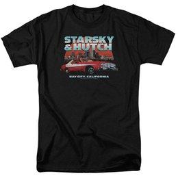 Vente en gros Starsky Hutch TV Show BAY CITY, Californie T-shirt adulte Toutes les tailles