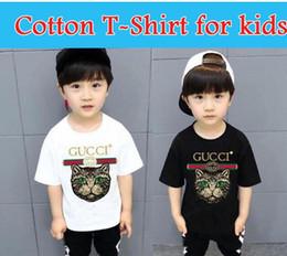 $enCountryForm.capitalKeyWord Australia - 2019+New Designer Brand 1-9 Years Old Baby Boys Girls T-shirts Summer Shirt Tops Children Tees Kids Clothing A1