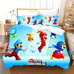 Edredon De Mario Bros.Mario Bedding Online Mario Bedding Online En Venta En Es Dhgate Com