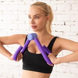 purple book NZ - PVC Exercisers Gym Arm Chest Waist Exerciser Workout Thigh Machine Gym Sports Thigh Master Leg Muscle Home Fitness Equipment