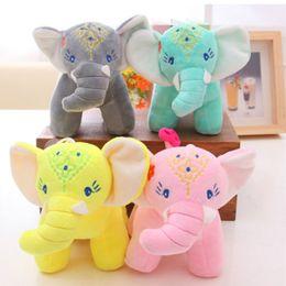 Cars stuff toy online shopping - Adorable Elephant Stuffed Animal Plush Toys Cartoon High Quality Fabric Car Ornaments Thailand Style New Arrival mb O1