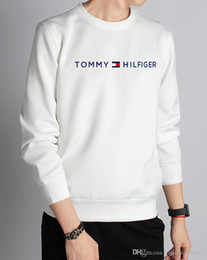 Toptan satış Yeni dış ticaret erkek Tasarımcı hoodies gelgit marka baskı artı kaşmir kazak erkek kadın yuvarlak boyun gevşek severler Nakış ...