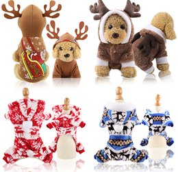 Wholesale kitty hoodies for sale – custom Christmas Dog ClothesHalloween party Cute Pet Hoodie Winter Clothes Sweatshirt Pet Apparel for Kitty Dogs Chihuahua Santa Costume Xs xxl