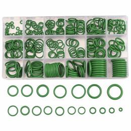 Toptan satış 270 adet / takım Kauçuk O Ring Yıkama Mühürler Su Geçirmezliği Çeşitler Kiti O-Ring Plastik Kasa Ile 18 Farklı Boyutu