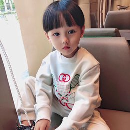 $enCountryForm.capitalKeyWord Australia - PRESELL! Toddler Kid Baby Girl Clothes Long Sleeve Printed T-shirt+Pants Tracksuit Outfit kids clothes fortnight costume children clothes