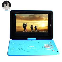 $enCountryForm.capitalKeyWord Australia - Swivel Screen LCD Rechargeable Battery Outdoor 13.9inch Home DVD Player USB Car Portable CD Mini HD TV Game