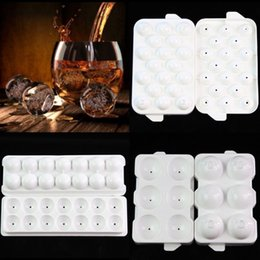 $enCountryForm.capitalKeyWord NZ - New Safety Plastic Whiskey Ice Ball Cube Maker Tray Sphere Mould Mold Party Brick Round Bar C19041301