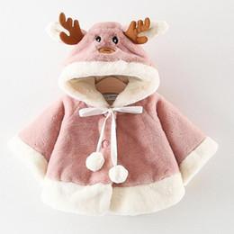 $enCountryForm.capitalKeyWord Australia - Animal Newborn Baby Coat Hooded Coat Baby Girl 6-24 Months Baby Jacket Newborn Warm Winter Clothes for Boys and Girls