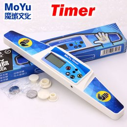 machine cube NZ - Moyu puzzle speed cube timer high speed timer professional clock machine magic cubes sport competition