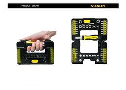 $enCountryForm.capitalKeyWord NZ - NEW STANLEY 39 PC black chrome mechanics tool set hand held case SCREW hardware tools MC-391S-23 free shipping high quality