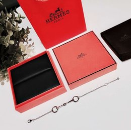 Stainless Steel Jewelry Boxes Australia - Designer designer snap jewelry wholesale women bracelets charm anchor leather stainless steel screw cuff gift box