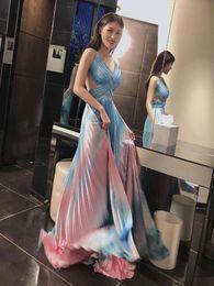 $enCountryForm.capitalKeyWord Australia - Women's New Products 2019 Summer Celebrity Party Strap Tube Top V-neck Leaky Back Puff MAXI Long Fashion Elegant Dr Dress + suit