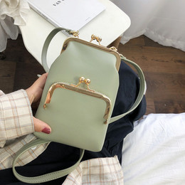 Discount cute colorful bags - New Arrival Colorful Cellphone Bag Fashion Daily Use Card Holder Small Crossbody bag Summer 2019 cute Shoulder for Women