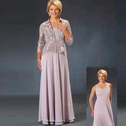 Fall Wedding Guest Dresses Jacket Australia - Customized A Line Spaghetti Strap Mother of the Bride Dresses with Jacket Lace Appliques Wedding Guest Dress Floor Length Formal Gowns