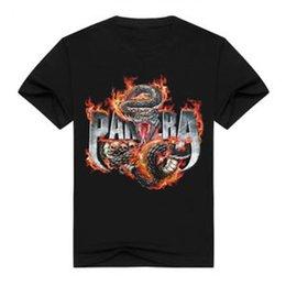 $enCountryForm.capitalKeyWord Australia - New Fashion Women Men Heavy Metal RoSummer Pantera 3D Print Casual T-Shirt G283