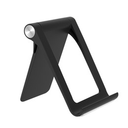 abs car phone holder Australia - ABS Car Phone Holder Stand for cell phone Foldable Rotary Mobile Stand Desk Tablet Simple Compact car Accessories