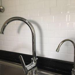 Backsplash Tiles For Kitchens Australia - Kitchen Backsplash Tiles Peel And Stick White Brick Subway For Kitchen, Bathroom 10 Pieces 12''x12'' Q190416