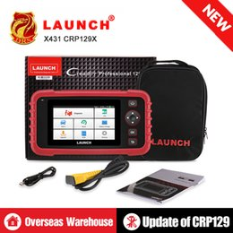 launch creader diagnostic obd2 code reader Australia - Launch X431 CRP129X CRP129 Creader VII+ CRP123X Auto Code Reader ENG AT ABS SRS OBD2 Scanner OBD OBDII Diagnostic Scanner Tool