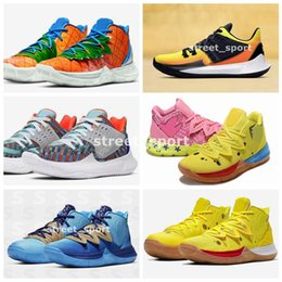 RubbeR body belt online shopping - 2020 Kyrie Pineapple House What the Mens Basketball Shoes s Concepts Low Multi Color Orion s Belt Graffiti x Sponge Kyries Zapatos