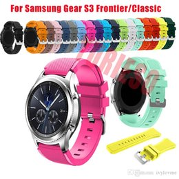 $enCountryForm.capitalKeyWord Australia - 22mm Sports Silicone Watch Band for Samsung Gear S3 Frontier Classic Strap for Huami Amazfit Pace Stratos 2 1 Wristbands