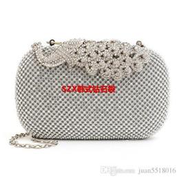$enCountryForm.capitalKeyWord Australia - New Women Diamonds Luxurious Top Evening Bags Day Clutch Messenger Shoulder Chain Handbags With Acrylic Mini Purse Wallet